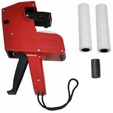 RED MX5500 PRICING GUN PRICE LABEL LABELLER SHOP OFFICE 10000 LABELS SPARE INK