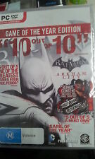 Batman Arkham City Game of the Year Edition GOTY PC (NEW)