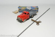 SCHUCO VARIANTO 3042 LASTO TRUCK LORRY RED GREY NEAR MINT BOXED RARE SELTEN RARO