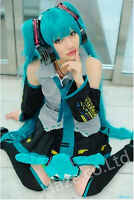 Vocaloid Hatsune Miku Cosplay  Costume anime Custom Any Size S M L XL XXL
