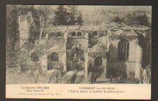 CLERMONT-en-ARGONNE (55) EGLISE animée en 1915