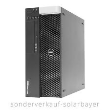 Dell Precision PC T3600 Workstation Xeon E5-2670 RAM 32GB SSD 256GB GTX 1060 3GB