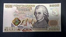 5000 Schilling  1988 W.A. Mozart C 350679 C