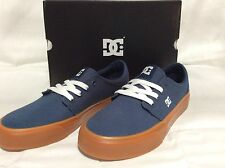 DC Men's Skate Shoes, Trase TX, size 6.5, Dark Denim/gum