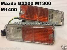 Front Bumper Indicator Turn Signal Lights For Mazda B2200 M1300 M1400 Pickup 2x