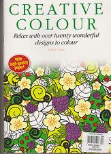 CREATIVE COLOUR MAGAZINE #9, RELAX WITH OVER TWENTY WONDERFUL DESIGN TO COLOUR.