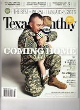 TEXAS MONTHLY Magazine (July 2013) COMING HOME