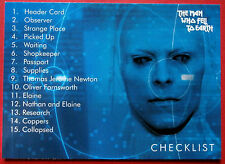 DAVID BOWIE - The Man Who Fell To Earth - Card #53 - Checklist - Unstoppable