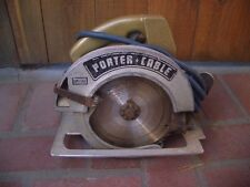 Vintage Porter Cable Circular Saw with Aluminum Guide Deck A