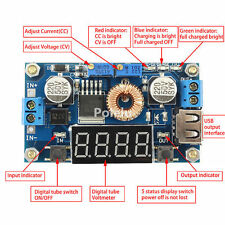 5A CC CV Buck Converter LED Drive USB Charger Power/Current/Voltage LED Module