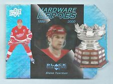 STEVE YZERMAN 2010/11 BLACK DIAMOND HARDWARE HEROES /100