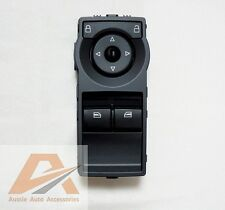 HOLDEN COMMODORE VE HSV SS SV6 UTE BLACK 2 BUTTON POWER WINDOW MASTER SWITCH