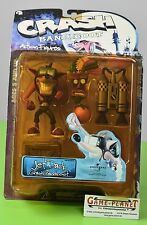 Crash Bandicoot JET PACK CRASH BANDICOOT Action Figure Toy 1998 Series 1 NEU