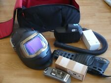3M Speedglas 9100XXMP Welding Helmet FlexView s/Windows Adflo Hornell Speedglass