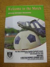 11/05/2014 West Middlesex Sunday League Veterans Cup Final: Holyport v British A