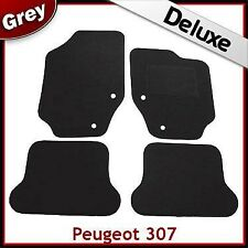 Peugeot 307 CC Coupe Cabriolet 2003 - 2008 Tailored LUXURY 1300g Car Mats GREY