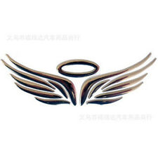 Hot 1X 3D Angel Fairy Wings Car Auto Truck Logo Emblem Badge Decal Sticker Decor