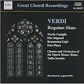 Verdi: Requiem Mass, , Good CD
