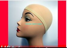 woman lady girl Blond Fashion Hair Wig Weaving stocking party Elastic snood cap