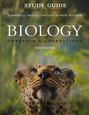 Study Guide for Biology: Concepts and Connections by Liebaert, Campbell, Reece