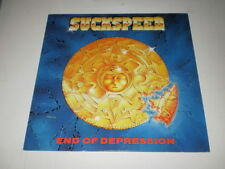 SUCKSPEED - END OF DEPRESSION - WE BITE RECORDS - LP 1992 - MADE IN GERMANY -