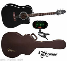 Takamine EF341SC Dreadnought *New* Acoustic Guitar + CASE +TUNER! EF-341 SC