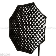 95cm octagon/octogonale softbox 5cm honeycomb grid octagbox bowens s type de raccord