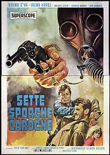 CINEMA-manifesto SETTE SPORCHE CAROGNE karel, nowak; SCIBOR-RYLSKI
