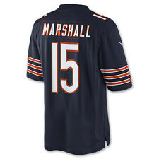 NFL Chicago Bears Brandon Marshall Nike Navy Blue Game Jersey Large SRP$150