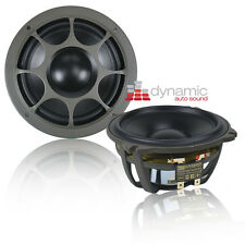 "Morel HYBRID MW5 Car Audio 5.25"" Hybrid Series Mid-Bass Woofers 500W Pair New"