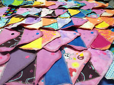 Set of 10 MamaBear LadyWear cloth menstrual pads: Dailywear Pantiliners Light