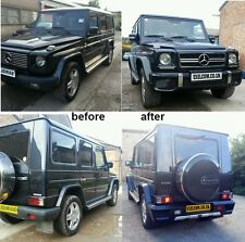 MERCEDES G class, G Wagon, G Wagen,G65 AMG STYLE BODY KIT. Primed made of GRP
