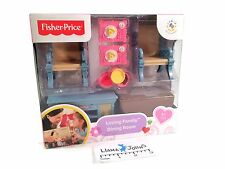 Fisher Price Loving Family Decor Dining Room Furniture Set 2013 NEW