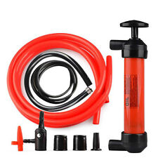 PUMP ACTION SIPHON PUMP WATER FUEL OIL LIQUID HAND PIPE LONG TUBE PETROL DIESEL
