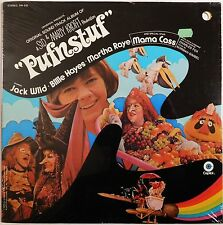 PUFNSTUF soundtrack lp CAPITOL STILL SEALED sid marty krofft mama cass