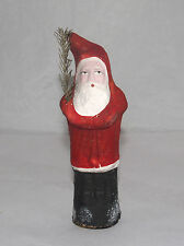 ANTIQUE GERMAN SANTA CLAUS BELSNICKLE CANDY CONTAINER GERMANY