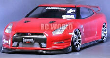 1/10 RC Car Body Shell NISSAN SKYLINE GT-R R35 Drift BODY SHELL W/ Light Buckets