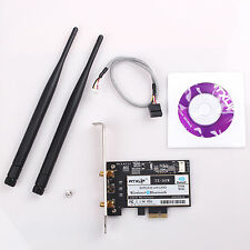 Atheros AR5B22 300M Wireless Wifi BT 4.0 PCI-E Card Desktop Adapter W/CD Driver