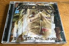 BLACKEND The last thing undone - CD
