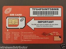 NET10 SIM CARD UNLIMITED TALK-TEXT-DATA $35 Mo T-MOBILE NETWORK WITHOUT CONTRACT