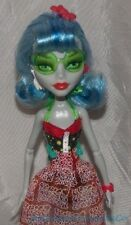 Retired 2011 MONSTER HIGH Beach SKULL SHORES GHOULIA YELPS Doll Complete Outfit