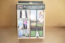 Total Vision Products Instant Mesh Guard Instant Screen Door