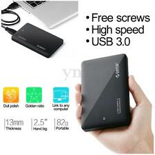 ORICO 2.5'' USB 3.0 SATA Enclosure Caddy Case Cover For SSD HDD Hard Drive Disk