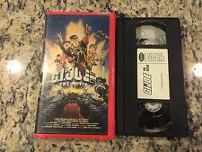 G.I. JOE THE MOVIE OOP VHS 1987 RHINO CLAMSHELL RELEASE DON JOHNSON KIDS CLASSIC