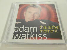 Adam Watkiss - This Is The Moment (CD Album) Used Very Good