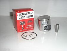 JONSERED 2252, CS2252, PISTON KIT 43MM REPLACES PART # 577047002 , NEW