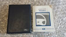 MONDEO MK2 HANDBOOK OWNERS MANUAL / WALLET 96-00