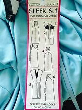 NEW Victoria's Secret Convertible Multiway 6 in 1 Dress Size S Aqua Turquoise