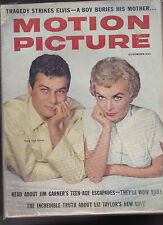 Motion Picture Magazine Tony Curtis Janet Leigh James Garner November 1958