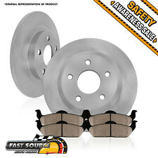 Rear 291mm Brake Rotors and Ceramic Pads 1995 1996 1997 1998 1999 TOYOTA AVALON